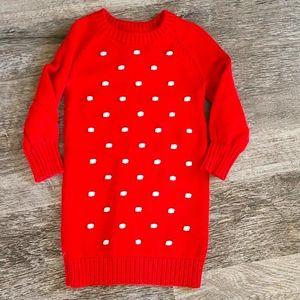 GAP toddler girl sweater dress